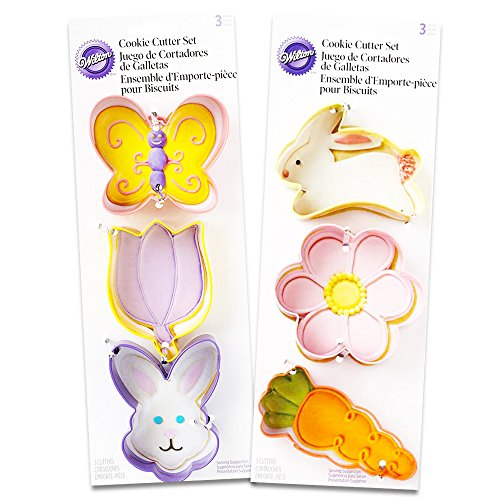 Wilton 6-Piece Easter Cookie Cutter Set (Assorted Classic)
