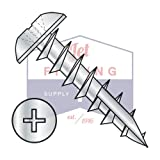 #8 x 5/8'' Deep Thread Wood Screws / Phillips / Truss Head / Type 17 Pt / Steel / Zinc / Type 17 Point | Full Thread (QUANTITY: 8,000 pcs)