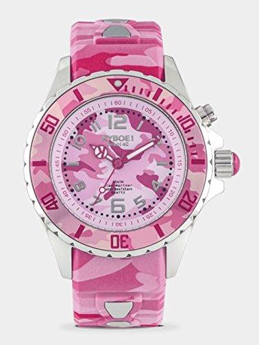 KYBOE! Pink Camo Silicone Strap CS.40-005.15