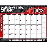 Turner 1 Sport Nebraska Cornhuskers 2019 22X17 Desk Calendar Office Desk Pad Calendar (19998061484)