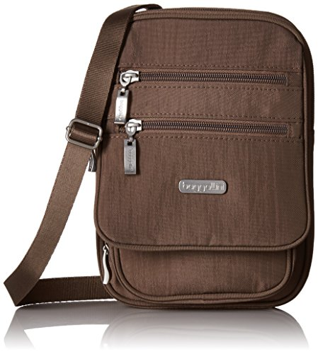Shoulder Bag Backpack Cross - Baggallini RFID Journey Crossbody, Portobello