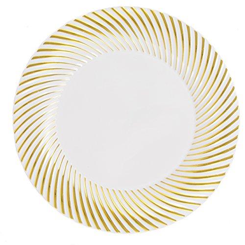 White 2 Salad Plates - 8