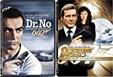 OCTOPUSSY 2 Disc Special Edition James Bond Dr. No Sean Connery DVD 007 Roger Moore Double Feature Bundle