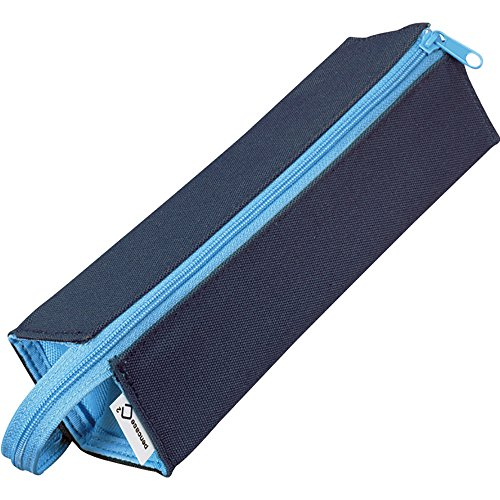 Kokuyo C2 Tray Type Pencil Case - Navy Light (Light Blue Type)