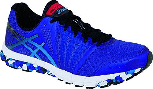 Price comparison product image ASICS Men's GEL-Lyte33 2 Running Shoe (8.5 D(M) US,  Electric Purple / Onyx / Marine)