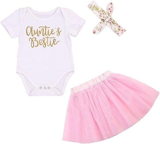 Adorable Infant Baby Girl Bodysuit Romper Floral Tutu Shorts Outfits Set Clothes