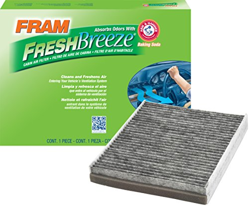FRAM CF10375 Fresh Breeze Cabin Air Filter with Arm & Hammer