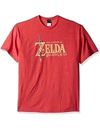 Men's Zelda Breath of the Wild Link Basic Logo T-Shirt