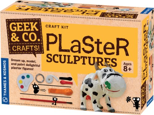 Geek & Co. Craft Plaster Sculptures