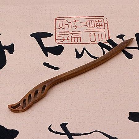accesorio joyas cabello lunji alfiler de cabello Vintage madera
