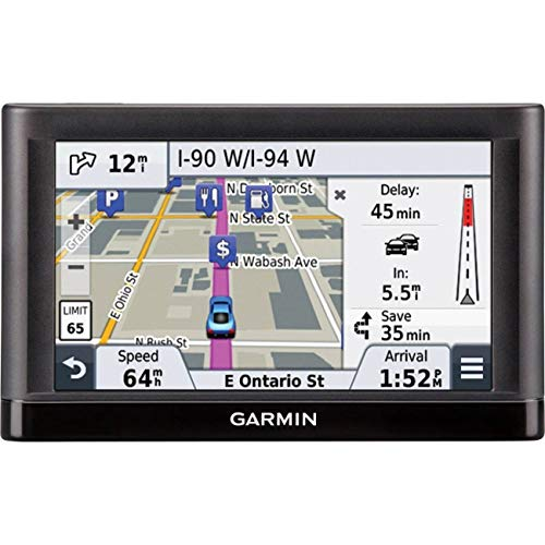 Garmin nüvi 55LMT GPS Navigators System with Spoken Turn-By-Turn Directions, Preloaded Maps and Speed Limit Displays (Lower 49 U.S. States)-(Renewed)