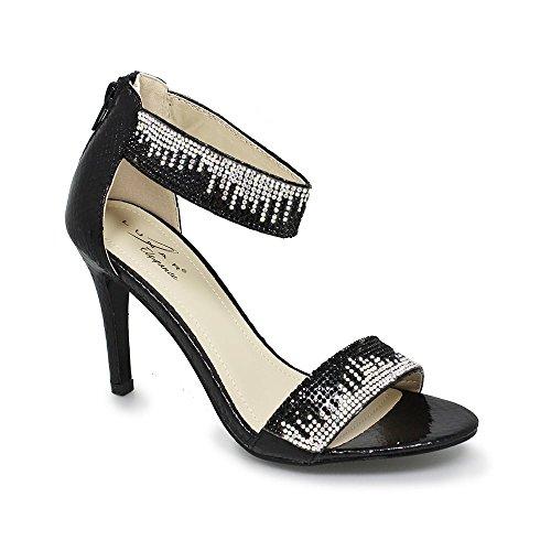 Sandales Noir Sandales Noir Noir femme Sandales Lunar Lunar pour femme pour pour Lunar femme Sandales Lunar pour gOqwqRA