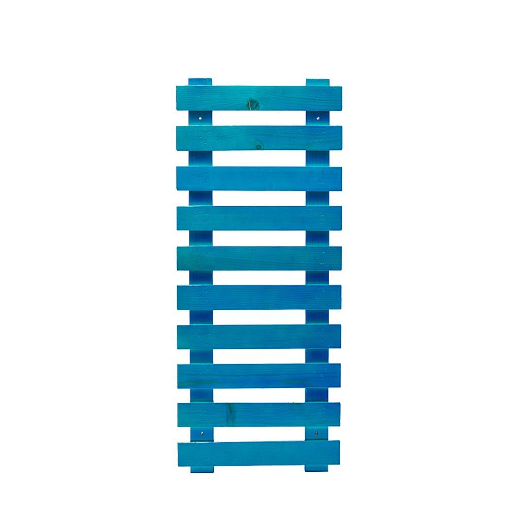più economico CXQ Moderno e Minimalista Minimalista Minimalista Appeso a Parete a Forma di Fiore in Legno massello Tipo di Pavimento Interno a più Strati Balcone Soggiorno Negozio di Fiori Pianta blu Flower Stand (Dimensione   L)  prezzi più convenienti