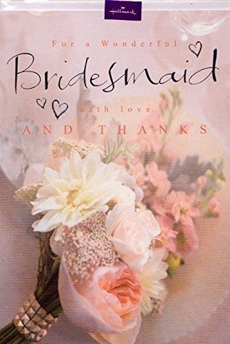 (Thank You Bridesmaid Card)