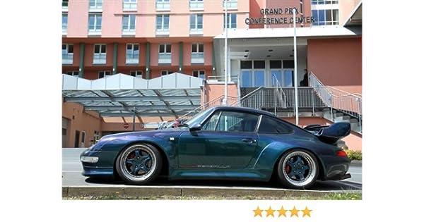 Amazon.com: Porsche 911 Gemballa 993 Bi Turbo Blue Left Side HD Poster Super Car Jumbo 48 X 32 Inch Print: Posters & Prints