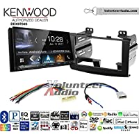 Volunteer Audio Kenwood DDX9704S Double Din Radio Install Kit with Apple Carplay Android Auto Fits 2008-2010 Nissan Rogue