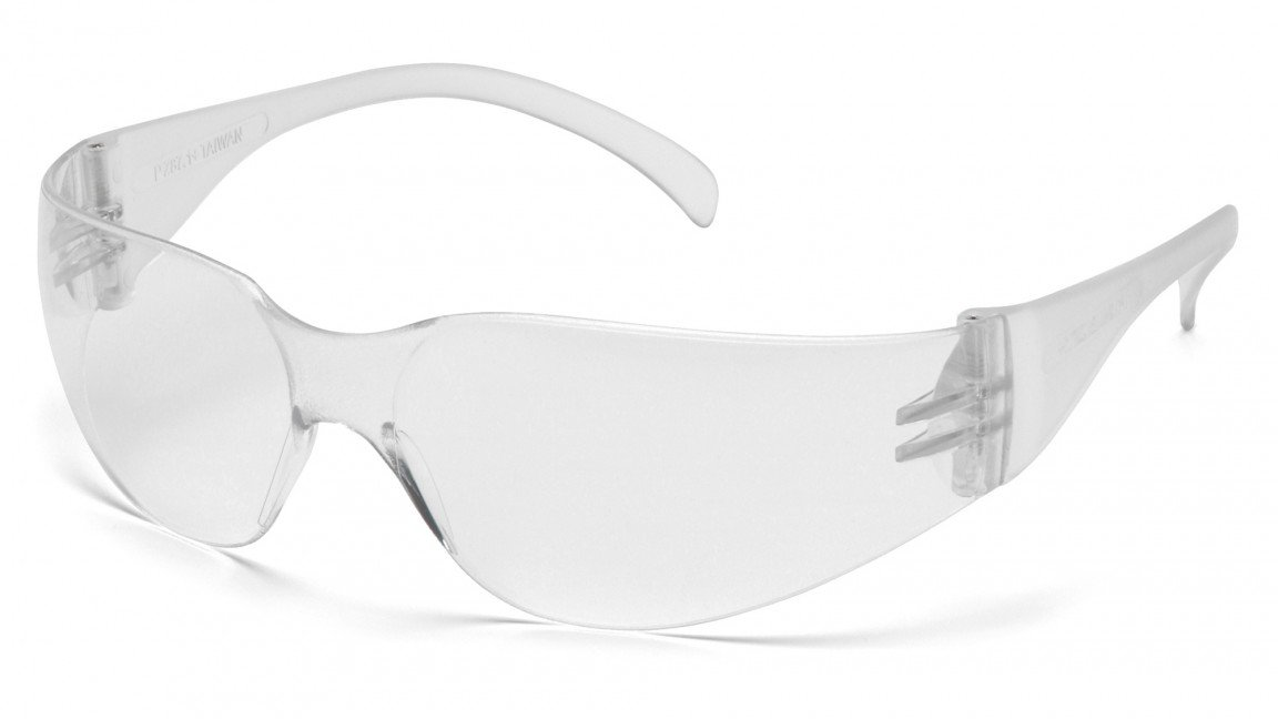 Safety Glasses,Clr/Clear Lens (Pack of 300)