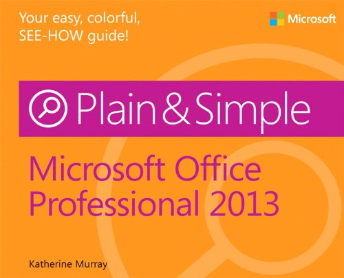 Price comparison product image Microsoft Office Professional 2013 Plain & Simple