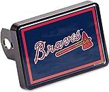 Stockdale Atlanta Braves Universal Hitch Cover Color Bumper Trailer Auto Cap Baseball