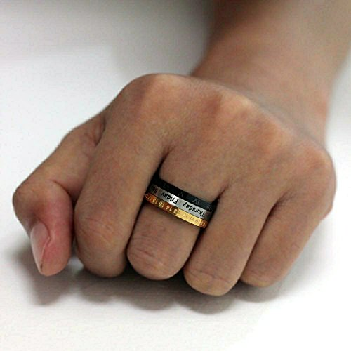 enhong-8MM-Mens-Spinner-Ring-Calendar-Time-Roman-Numerals-Band-Stainless-Steel-Rings-for-Women-US-7-13