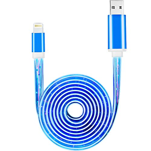 iphone 6 charger light blue - 4