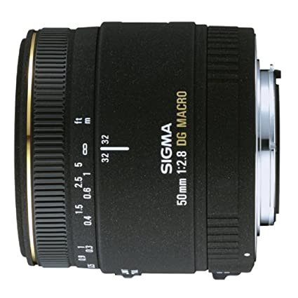 Sigma 50mm f/2 8 EX DG Macro Lens for Nikon SLR Cameras - Fixed