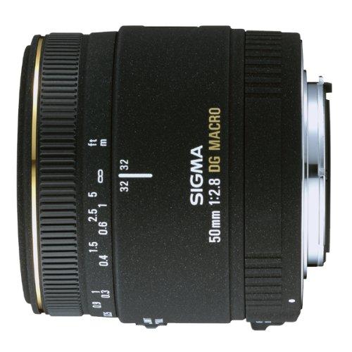 Sigma 50mm f/2.8 EX DG Macro Lens for Nikon SLR Cameras - Fixed