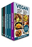 4 ingredient slow cooker cookbook - Vegan Cookbook Box Set 6 Books in 1: 5-Ingredient (vol 1); Instant Pot (Vol 2); Comfort Food (Vol 3); Slow Cooker (Vol 4); Desserts (Vol 5); Smoothies ... Quick and Easy Plant-Based Vegan Recipes