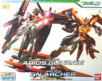 Arios Gundam + GN Archer HG 1/144 Clear color ver. Gunpla Expo limited