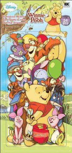 Disney Chipboad Pieces, Winnie The Pooh (Pooh Scrapbook)
