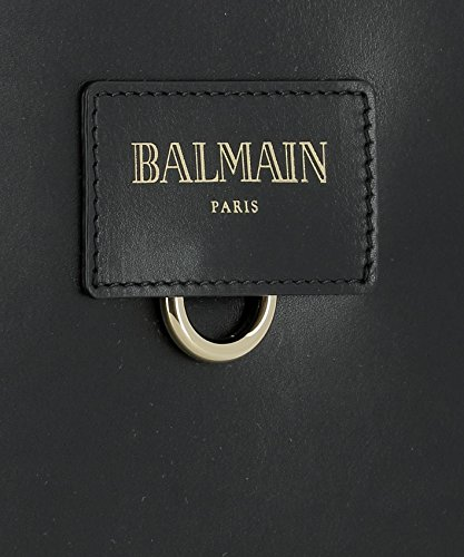 Balmain Borsa A Spalla Donna W7MPC012006176 Pelle Nero