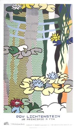 Roy Lichtenstein Lithograph - Roy Lichtenstein - Water Lilies With Japanese Bridge Offset Lithograph Edition of 500