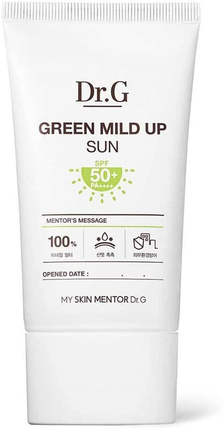 Dr.G Green Mild Up Sun Protección solar ligera SPF50+/PA++++ 50ml