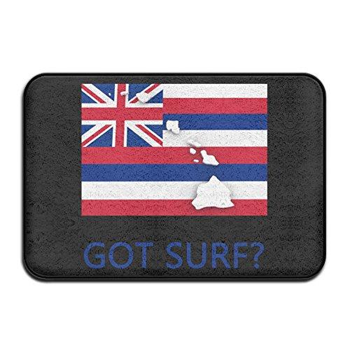 EWD8EQ Got Surf Hawaii Non-slip Indoor/Outdoor Door Mat Rug For Health And Wellness Kitchen Bathroom Doormat 23.6''x 15.7'' by EWD8EQ