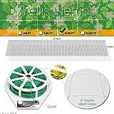 HYDGOOHO Plant Trellis Netting 5x30ft 2-Pack