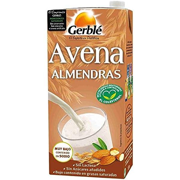 Bebida De Avena Y Almendra Gerblé 1 L: Amazon.es: Alimentación y bebidas