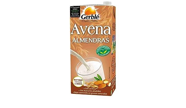 Bebida De Avena Y Almendra Gerblé 1 L: Amazon.es: Alimentación y ...