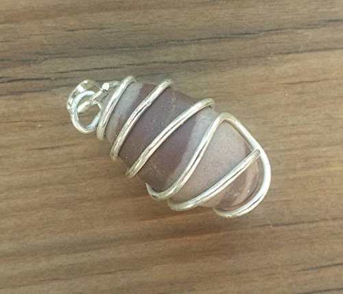 [A&S Crystals] SHIVA LINGAM Wire Wrapped Twist Sacred Stone (Shiva Wire)