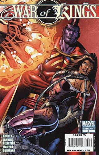 War of Kings #2 (2nd) VF ; Marvel comic book