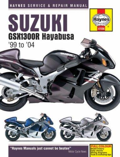 Suzuki GSX1300R Hayabusa '99 to '04 (Haynes Service & Repair Manual) pdf epub