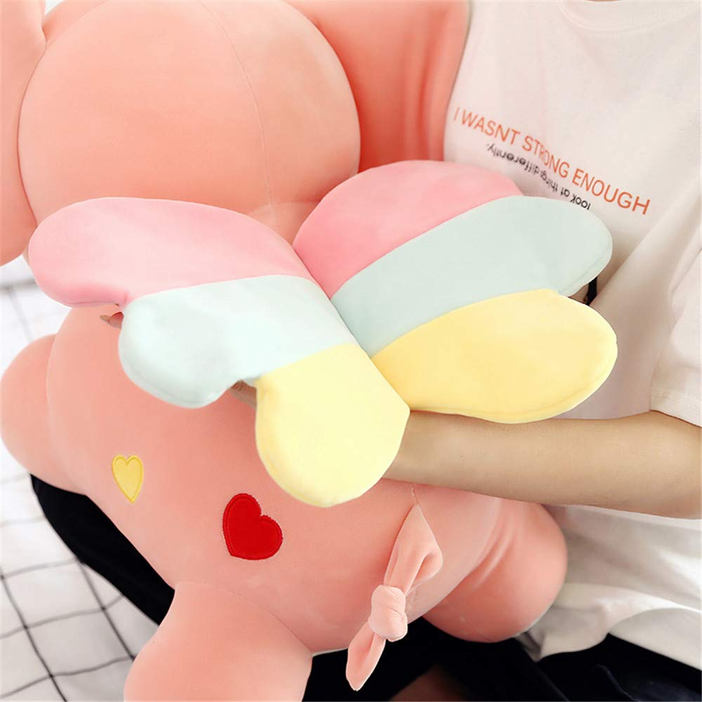 50cm, Gray MJTP Stuffed Elephant Animals Plush Toys Elephant Soft Plush Pillow Cute Animal Stuffed Toy Gift for Kids//Couples//Friends