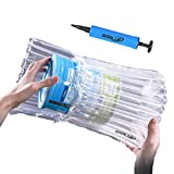 SABLUE 36x43cm Shipment Shock Proof Pressure Protector Inflatable Cushioning Shipping Air Bags 14PCS Transparent Inflated Commercial Industrial Products Protective Packaging Free Air Pump-CB014