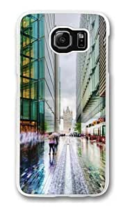 Business In London Custom Samsung Galaxy S6/Samsung S6 Case Cover Polycarbonate Transparent