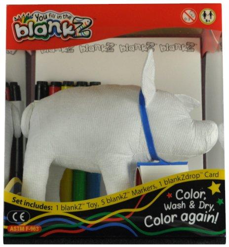 The BlankZ Pig - Bloink White