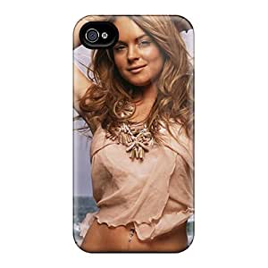 Excellent Design Lindsay Lohan Case Cover For Iphone 4/4s