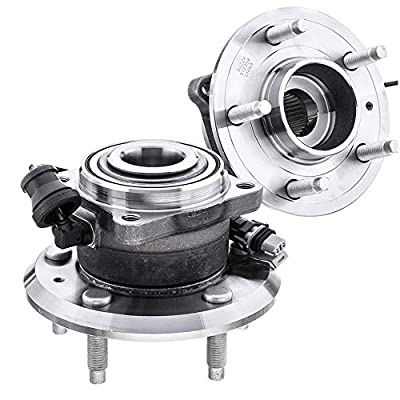 [2-Pack] 512358 - REAR Left and Right Side Wheel Hub Bearing Assembly for Chevrolet Captiva Sport, Chevrolet Equinox, Pontiac Torrent, Saturn Vue, Suzuki XL-7 [Please See Description for More Details]: Automotive