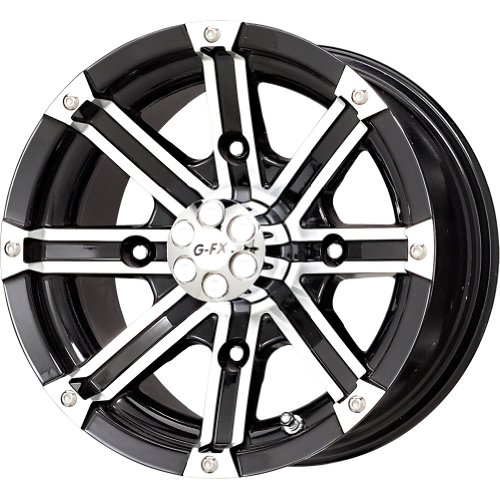 Dbl G Wheels (G-FX Double Barrel Gloss Black Wheel with Machined Face (14x7/4x156mm))