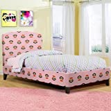 PAUL FRANK® TWIN PAJAMA BED PINK