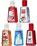 Bath & Body Works PocketBac Hand Sanitizer Kids Christmas Sweets 5pc Bundle