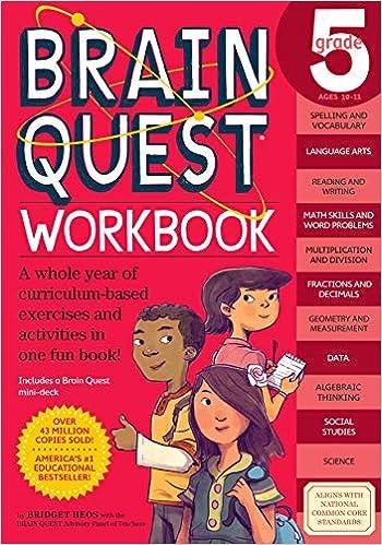 Brain Quest Workbook Grade 5 Bridget Heos Matt